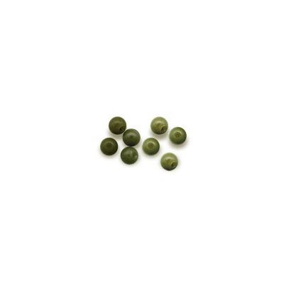 Solar Gumový korálek Beads 6mm green 20ks