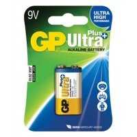 Baterie GP Ultra Plus 9V Alkaline battery 1ks