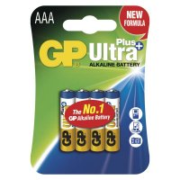 Baterie GP Ultra Plus AAA 4ks v blistru