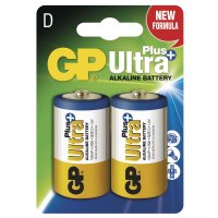 Baterie GP Ultra Plus LR20 D 2ks