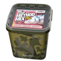 Bait-Tech Camo Bucket Big Carp Method Mix Krill & Tuna 3kg