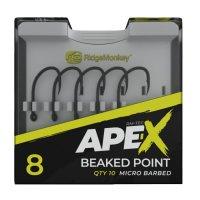 RidgeMonkey Háčky Ape-X Beaked Point Barbed