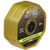 RidgeMonkey RM - Tec Braided Shockleader 50lb 20m Camo