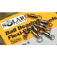 Solar Obratlík Ball Bearing Swivels vel.8 8ks