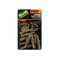 Fox Edges Running Safety Clips Trans Khaki poslední 1ks