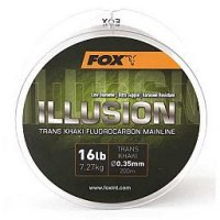 Fox Vlasec Illusion Soft Trans Khaki 200m 0,35mm Fluorocarbon