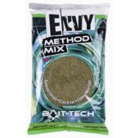 Bait-Tech Method Mix Groundbaits Envy Green Hemp & Halibut Method Mix 2kg