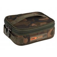 Fox Pouzdro na olova Camolite Rigid Lead Bits Bag Compac