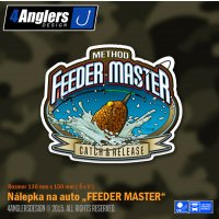 4Anglers Design nálepka Feeder Master 130x150mm