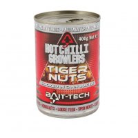 Bait-Tech Tygří ořech Hot Chilli Growlers Tiger Nuts 400g